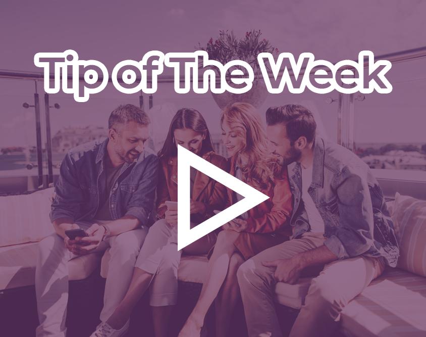 tip of the week purple